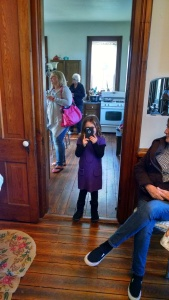 The official event photographer! Everything was taken from the vantage point of a 6 year old! LOVE IT!